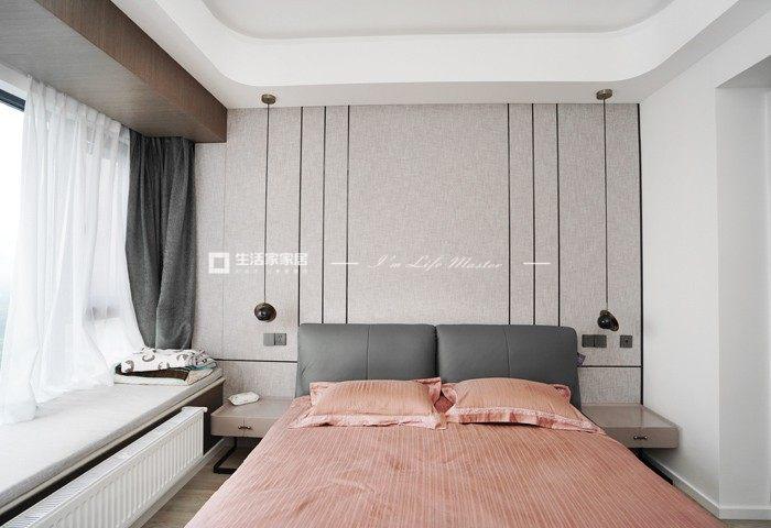 古代寝室装修成果图