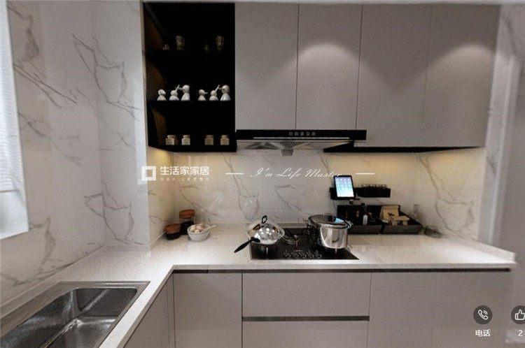 轻奢厨房装修效果图