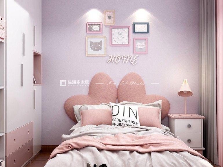 现代次卧装修效果图