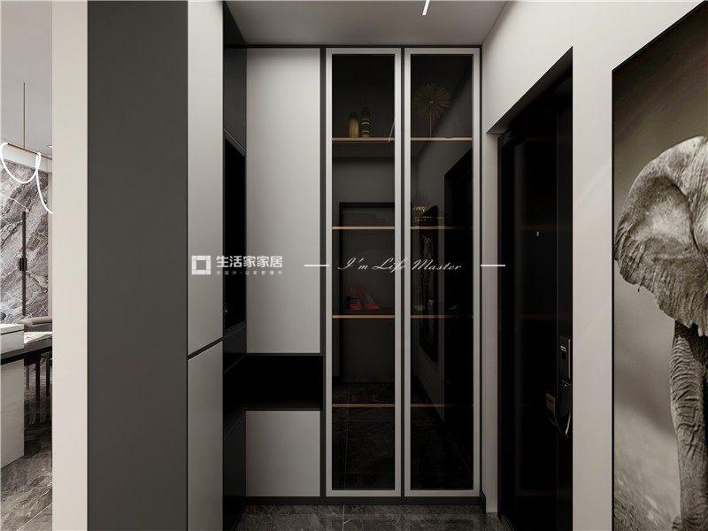 现代玄关装修效果图