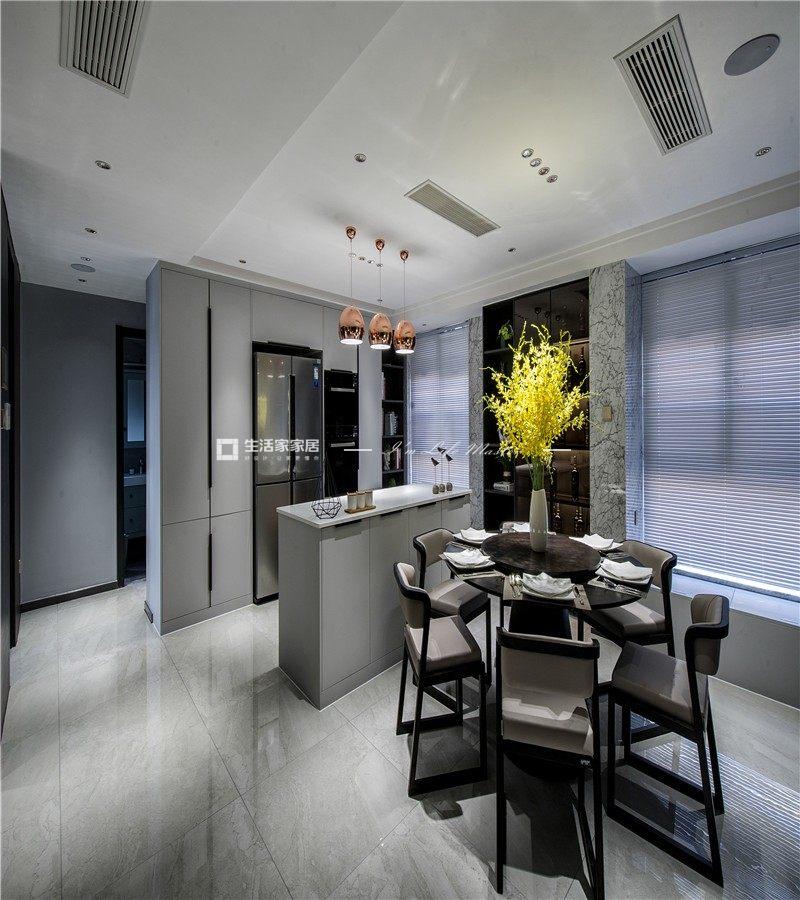 现代餐厅装修效果图