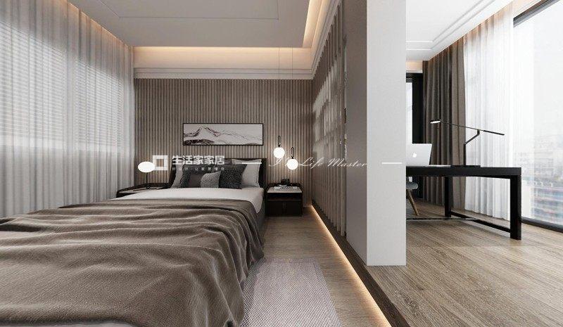 中式臥室裝修效果圖