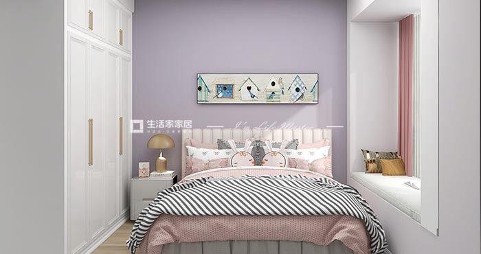 美式次卧装修效果图