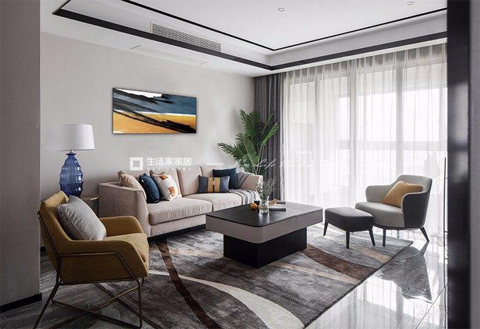 现代客厅广东11选5走势图效果图