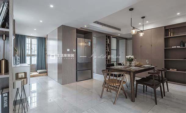 东坪山庄+128m²+现代风格