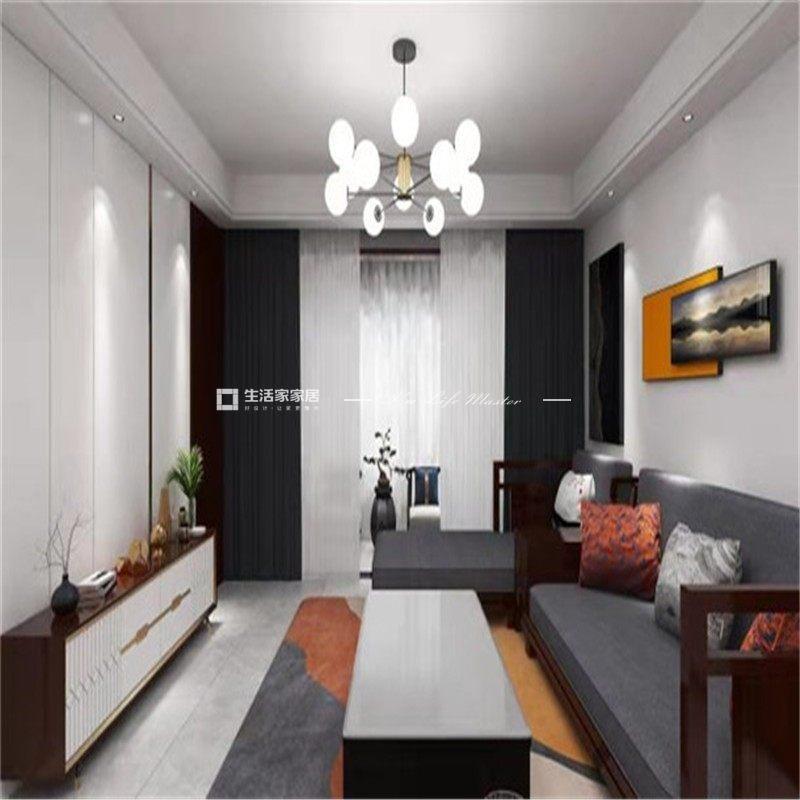 新中式客厅装修效果图