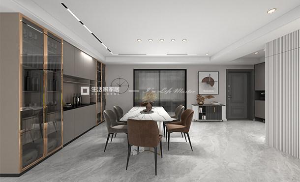 双流博翠粼湖+175m² +现代轻奢风格