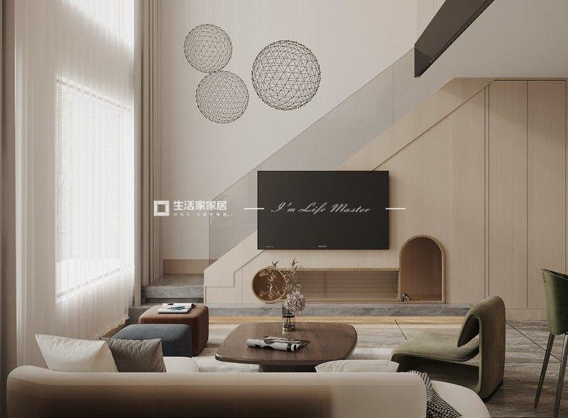 现代客厅装修效果图