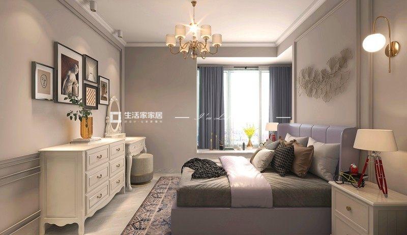 简欧卧室装修效果图