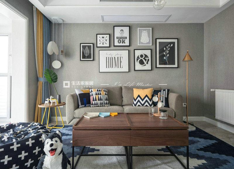 二极顶家装客厅是什么样的?